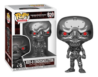 Funko Pop! Rev-9 Endoskeleton #820 Terminator Dark Fate