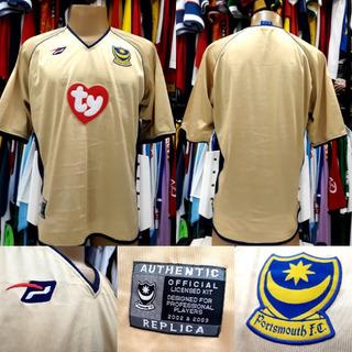 Camisa Portsmouth - M - 2002/2003 - S/nº