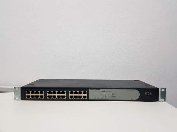Switch 3com Baseline 2024 10/100 24 Puertos