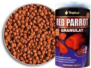 Ração Tropical Red Parrot Granulat 400g Paraíso Dos Aquários