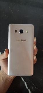 Celular Samsung J5 Prime Dorado Con Funda Negra