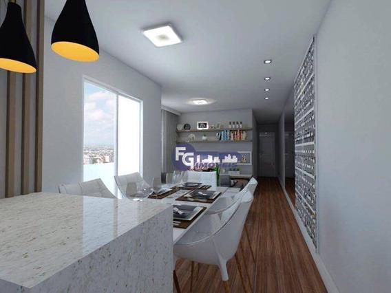 Apartamento Com 2 Dormitórios À Venda, 87 M² Por R$ 232.200,00 - Novo Mundo - Curitiba/pr - Ap0896