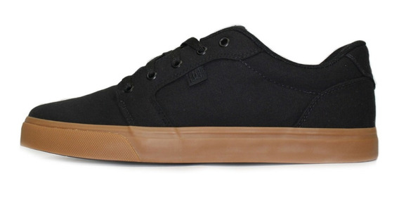 Tênis Masculino Dc Shoes Anvil Tx La Preto/caramelo Original