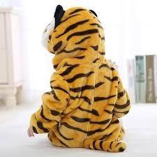 Macacão De Inverno Para Bebê Fantasia De Tigre Promoção