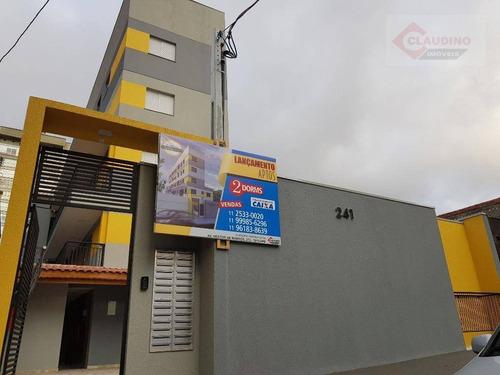 Apartamento, 30 M² - Venda Por R$ 269.000,00 Ou Aluguel Por R$ 1.400,00/mês - Anália Franco - São Paulo/sp - Ap1985