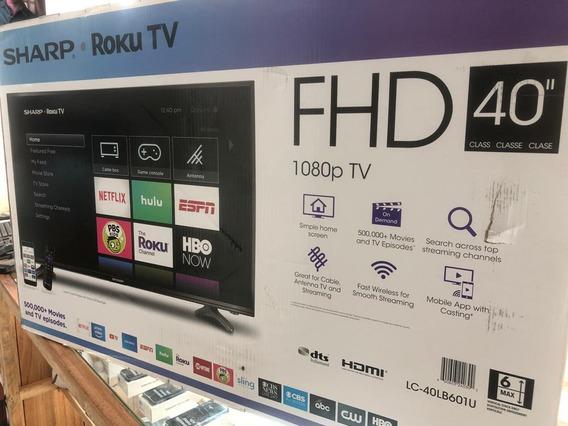 Tv Sharp De 40 Roku-tv