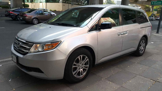 Honda Odyssey 2011 5p Exl Minivan Aut Cd Q/c