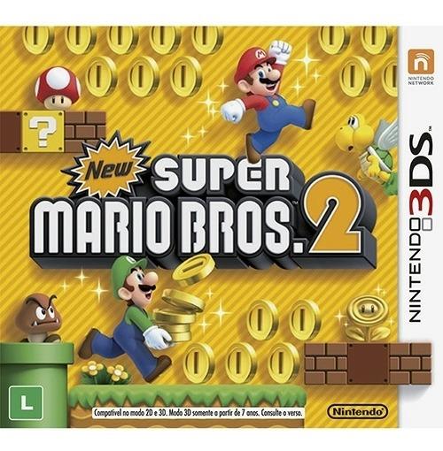 New Super Mario Bros 2 Na Caixa - 3ds Mídia Física