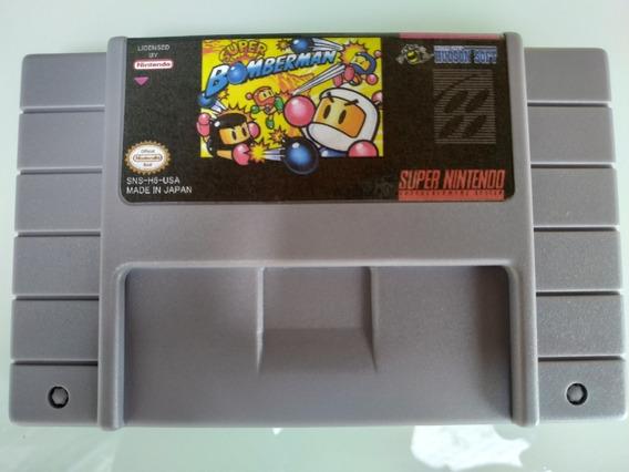 Super Bomberman Super Nintendo Snes