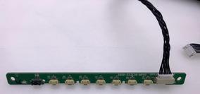 Sensor Controle + Botões Tv Toshiba Dl3277i(a) Dl3277i