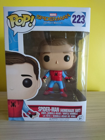 Funko Pop - Spider Man Homecoming - Novo!
