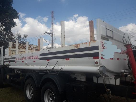 Tanque São João Truck P/ Água Com Abastecimento Diesel 2015