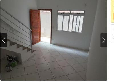 Casa Em Parque Bitaru, São Vicente/sp De 63m² 2 Quartos À Venda Por R$ 223.000,00 - Ca221419