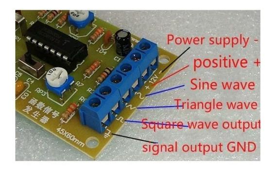 Gerador De Funções (sinais) Kit (diy) Para Montar Icl8038