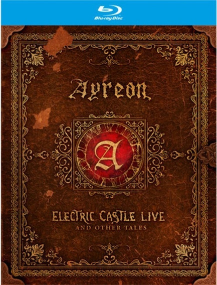 Ayreon Electric Castle Live And Other Tales Bluray Lançament