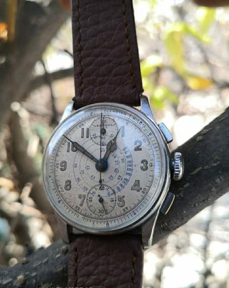 Reloj Chronográfico Leonidas Año 1940. Vintage.