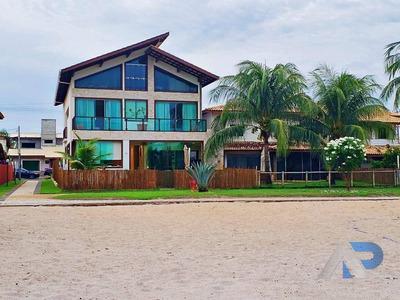 Casa Com 4 Dormitórios À Venda, 500 M² Por R$ 1.700.000 - Praia Do Flamengo - Salvador/ba - Ca0039