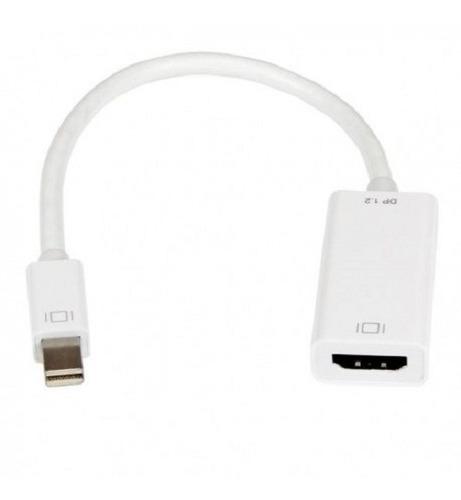 Imagen 1 de 6 de Cable Adaptador Mini Display Port A Hdmi Para Mac Otros Mdp