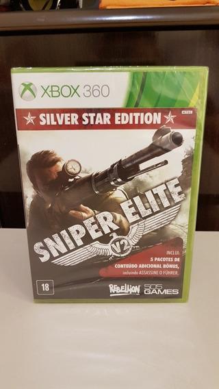 Sniper Elite V2 Silver Star Edition Xbox 360 Novo Lacrado