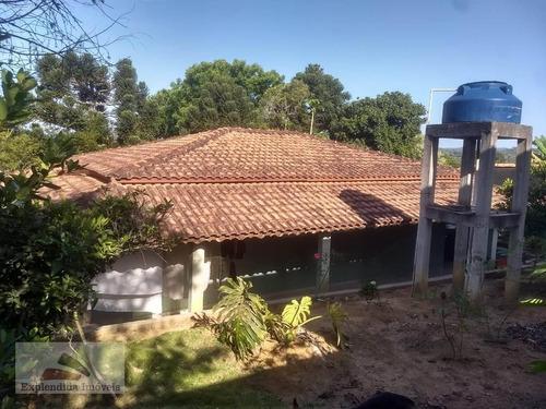 Chácara À Venda, 1500 M² Por R$ 450.000,00 - Centro - Biritiba Mirim/sp - Ch0002