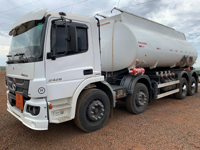 Mb Atego 2426 2012 8x2 Tanque 20 Mil L