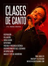Clases De Canto - Caballito/flores - Tecnica Vocal.