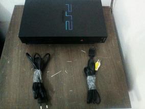 Play Station 2 Tijolao Acompanha 02 Controles