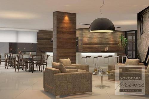 Andar Corporativo À Venda, 200 M² Por R$ 1.267.000 - Edifício Millenia Exclusive Offices - Sorocaba/sp. - Ac0001