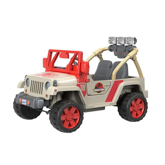 Montable Jeep Jurassic Park Electrico Power Wheels