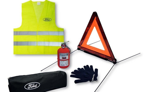 Imagen 1 de 1 de Kit De Seguridad Con Matafuego