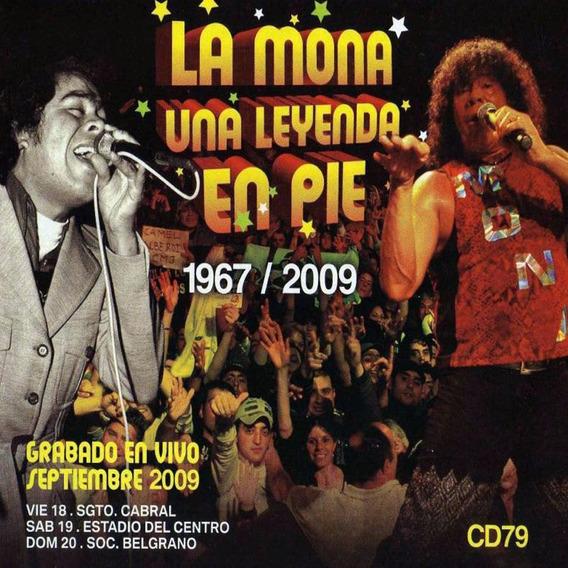 La Mona Jimenez Una Leyenda De Pie 2 Cds + Dvd Los Chiquibum