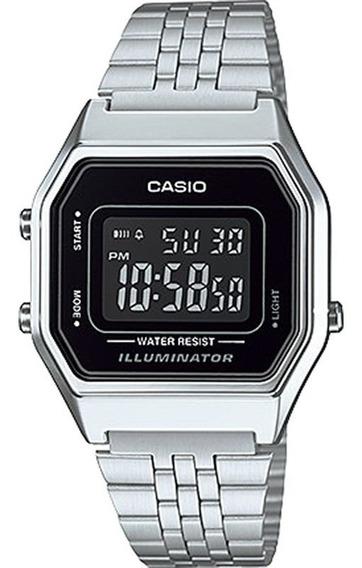 Relógio Casio Vintage Feminino La680wa-1bdf