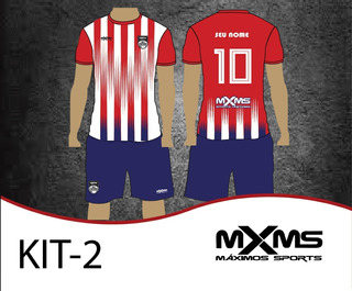 Kit 15 Uniformes De Futebol Personalizado