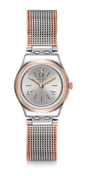 Relógio Swatch Full Silver Jacket Yss327m