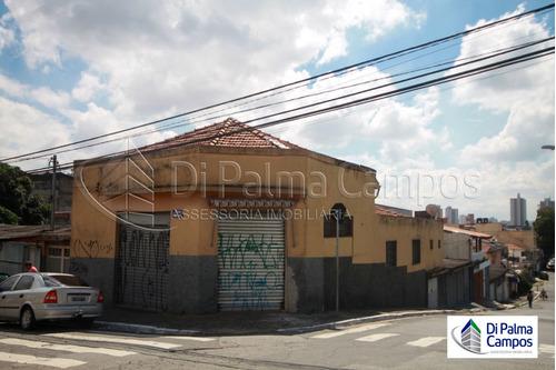 Casa De Esquina Com Salão Comercial Na Região Do Cursino - Dp4317