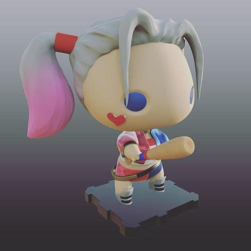 Harley Quinn - Figura Coleccionable Estilo Funko Pop