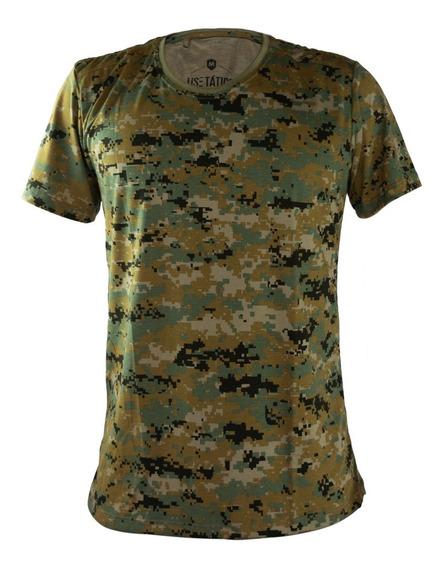 Camiseta Camuflada Marpat Camisa Masculina T-shirt Militar
