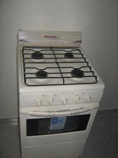 Cocina Milatti 4 Hornillas A Gas Nueva - Preguntar Precio