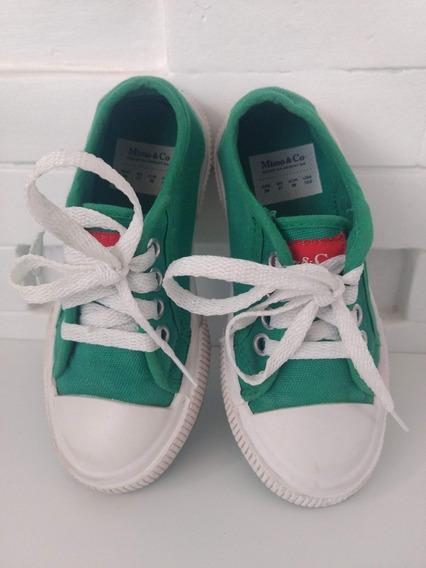 Zapatillas Mimo Lona N° 28 Unisex