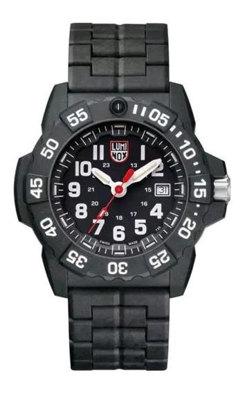 Relógio Luminox Xs.3502 Navy Seal Trident Carbono Reforçado