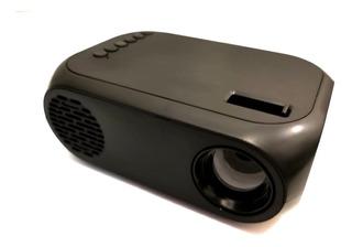 Mini Proyector Portatil Led Usb Hdmi Tv Video Rca Negro