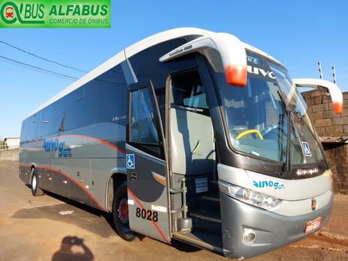 Ônibus Scania/k340, Marcopolo 1050 G7, Ano 10/10, Ar, Wc