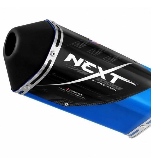 Ponteira Escape Esportivo Next Cb 250 Twister 2015 Azul