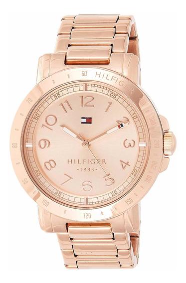 Reloj Tommy Hilfiger Dorado Rosa Dama Envío Gratis