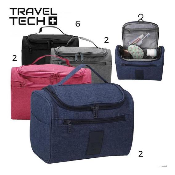 Neceser Travel Tech Art. 10173 Nylon 100% C/ Compartimentos