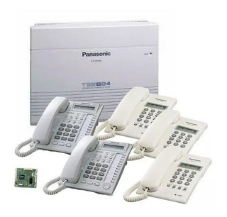 Paquete Panasonic Kx-tes824, Inicial 3 Lineas 8 Extensiones