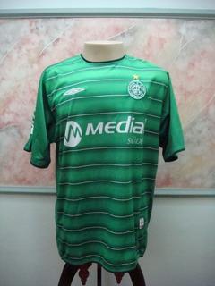 Camisa Futebol Guarani Campinas Sp Umbro Jogo Antiga 2015