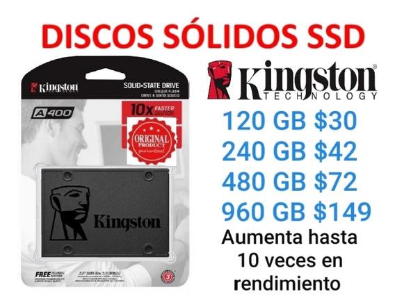 Discos Sólidos Ssd Kingston A400 120gb 240gb 480gb 960gb