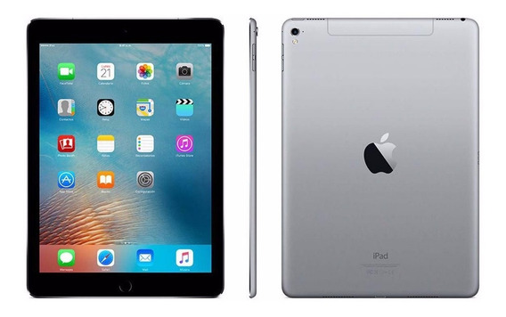 iPad Apple New Wifi Lte 128gb Mp262cl/a Cinza