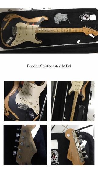 Guitarra Fender Mexicana Customizada - Eric Clapton Blackie